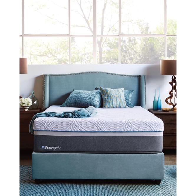 Sealy Hybrid Firm Full Size Mattress With 9 In High Profile Foundation 41406440 The Home Depot