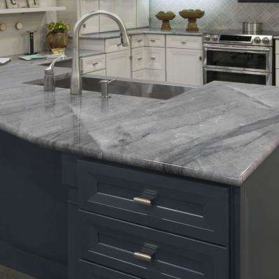 White Quartzite Countertops