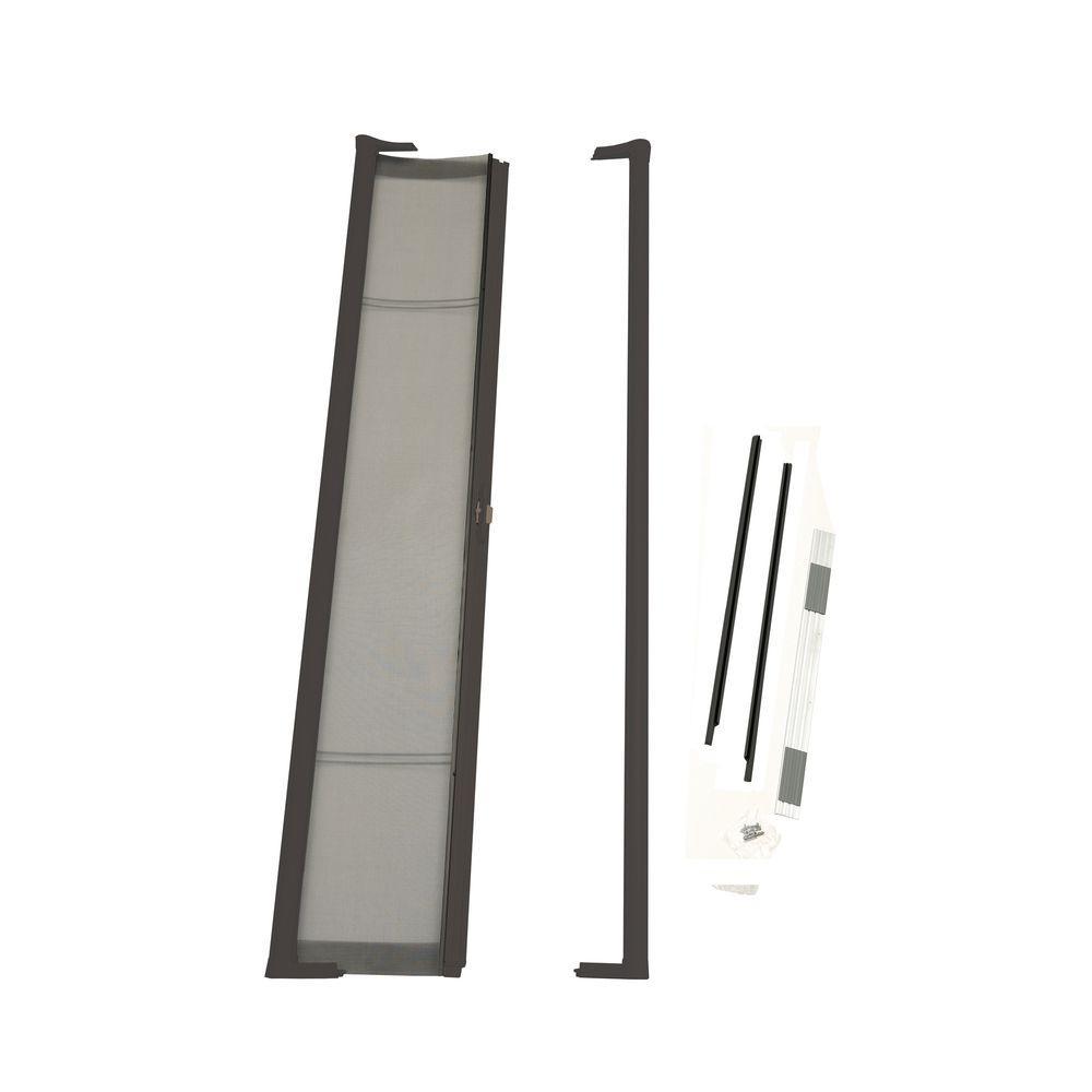 36 In X 80 In Brisa Brown Standard Retractable Screen Door