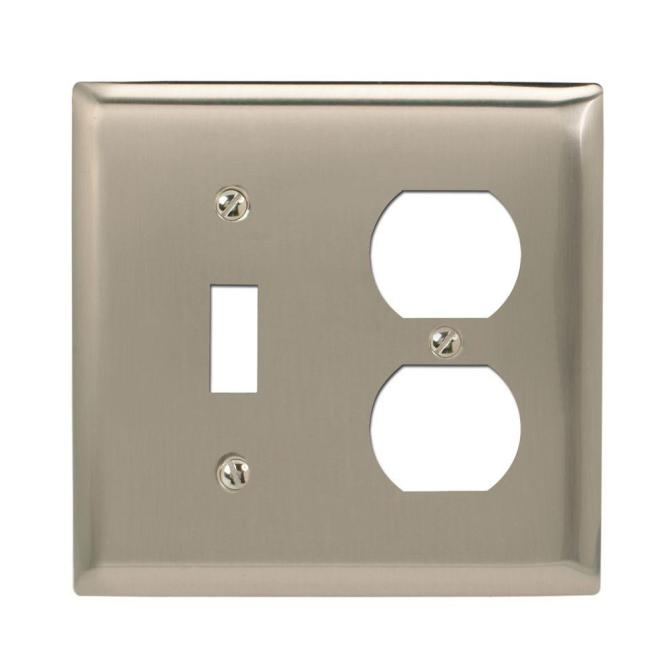 Amerelle Continental 2 Decora Wall Plate Oil Rubbed Bronze