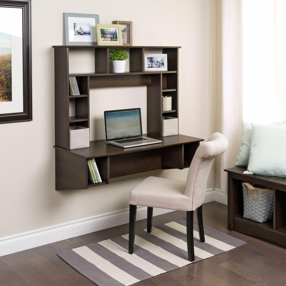 Prepac Sonoma Espresso Desk With Storage EEHW 0800 1 The