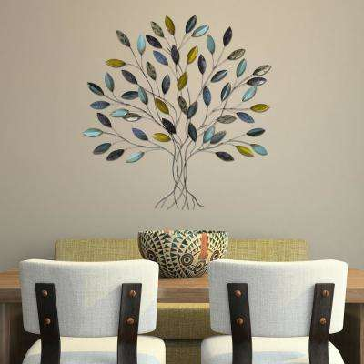 Metal Work   Wall Art   Wall Decor   The Home Depot Tree Wall Decor