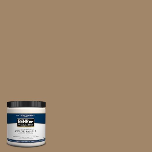 Behr Premium Plus Home Decorators Collection 8 Oz Hdc Nt 28 Soft Bronze Zero Voc Interior Exterior Paint Sample Pp10316 The