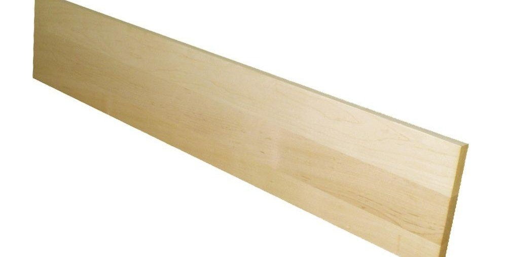 Stairtek 75 In X 7 5 In X 36 In Unfinished Maple   Home Depot Hardwood Stair Treads