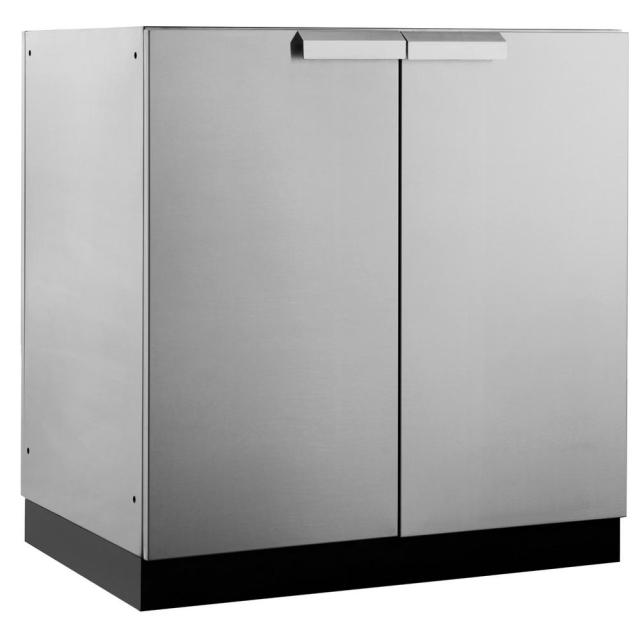 newage products stainless steel classic 32 in. 2 door base 32x35x24