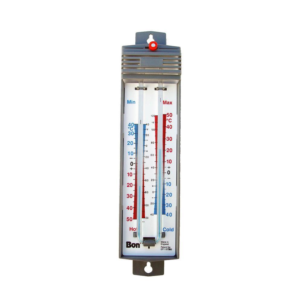 Max Min Thermometer Mercury
