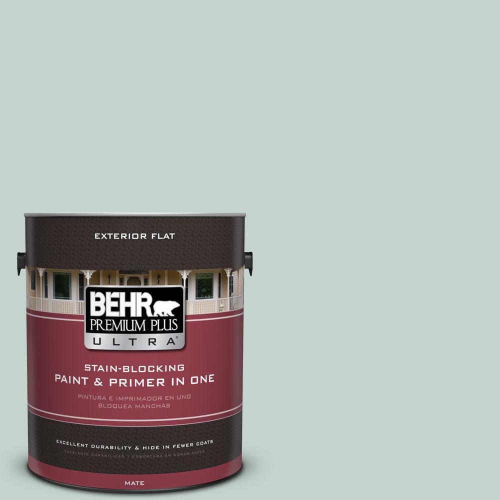 Behr Premium Plus Ultra  Gal N  Natures Reflection Flat Exterior Paint