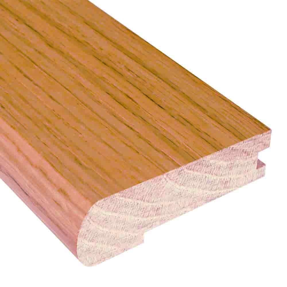 Millstead Unfinished Oak 3 4 In Thick X 3 In Wide X 78 In | Hardwood Floor To Stair Transition | Tile | Molding | Vinyl Plank | Laminate | Carpeted Stairs