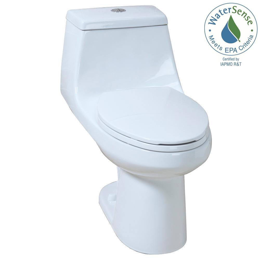 this review is from 1 piece 1 1 gpf 1 6 gpf high efficiency dual flush elongated all in one toilet in white