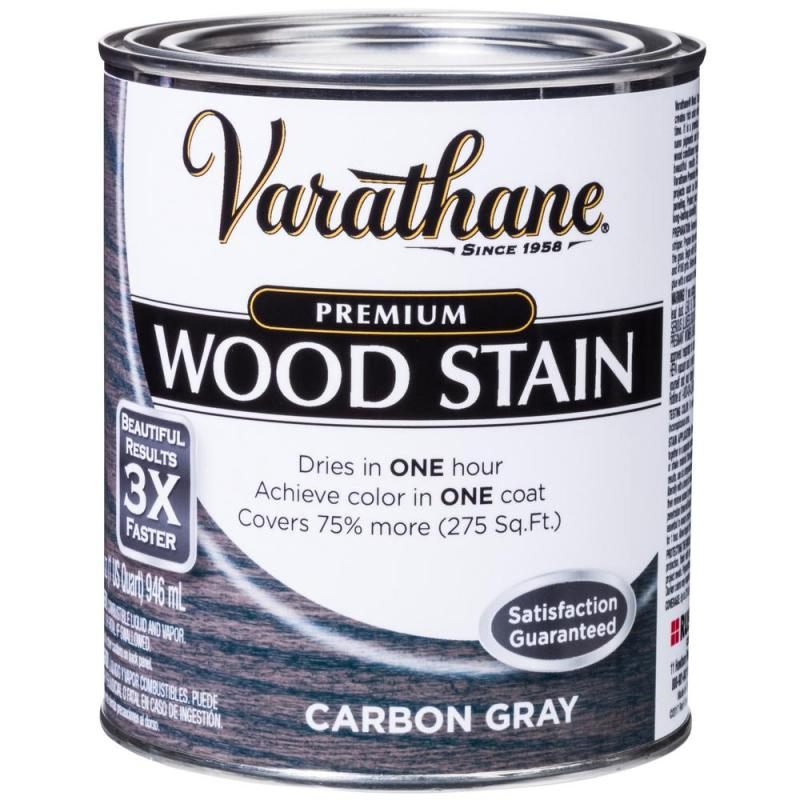Carbon Gray Premium Fast Dry Interior Wood Stain 2 Pack