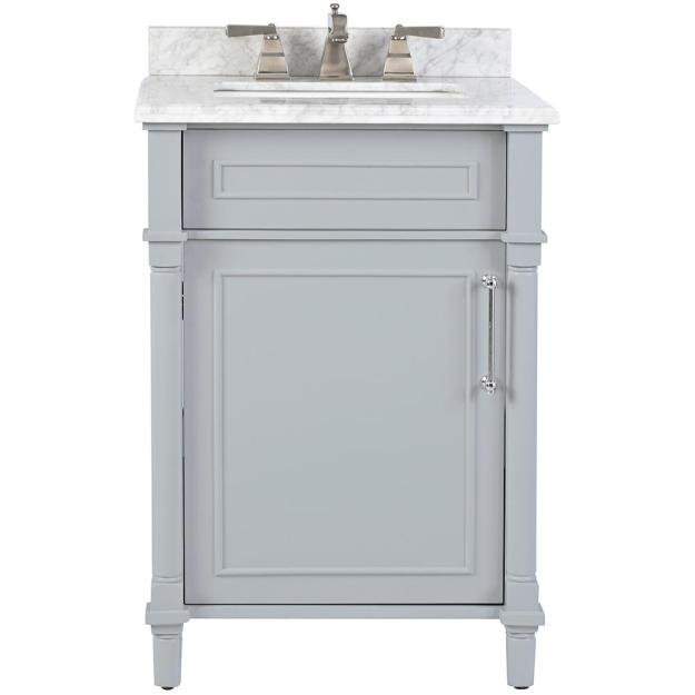 home decorators collection aberdeen 24 in. w x 22 in. d bath vanity