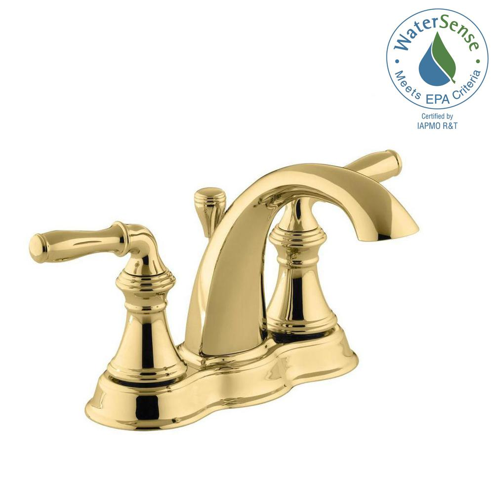 kohler - brass - bathroom faucets - bath - the home depot