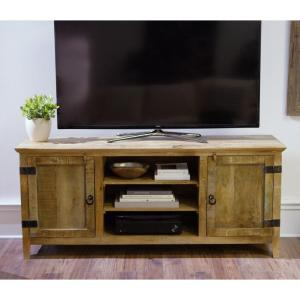 Holden Natural Storage Entertainment Center Home Decorators Collection