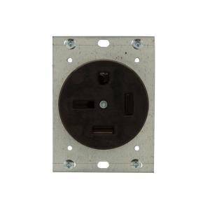 Eaton 50 Amp 250Volt 1550 3Pole4Wire Power Receptacle