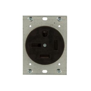 Eaton 50 Amp 250Volt 1550 3Pole4Wire Power Receptacle
