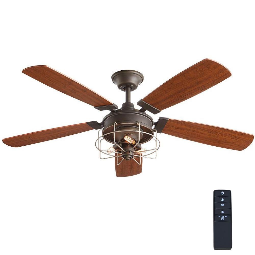 Home Decorators Collection Toledo 52 In Oil Rubbed Bronze Ceiling Fan
