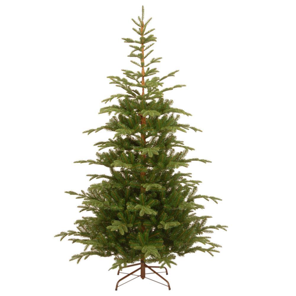 National Tree Company 7 12 Ft Feel Real Norwegian Spruce