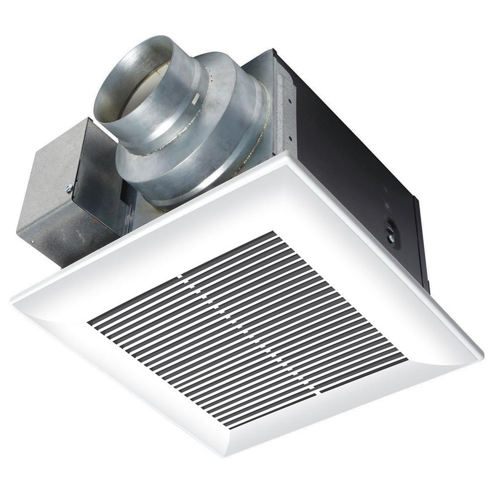 panasonic - bath fans - bathroom exhaust fans - the home depot