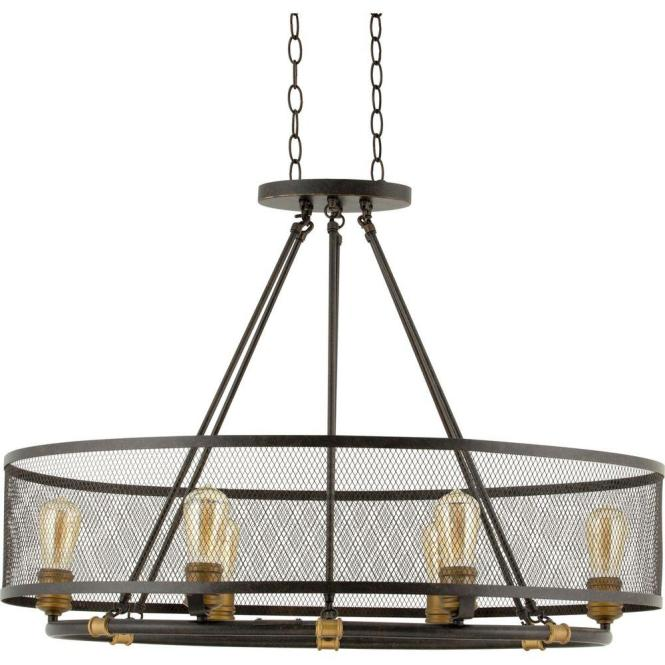 Progress Lighting Heritage Collection 6 Light Forged Bronze Chandelier P7926 77 The Home Depot