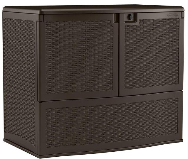 Backyard Oasis Vertical Deck Box