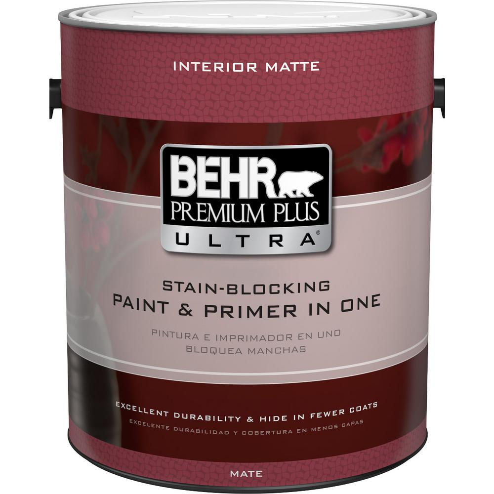 Behr Interior Paint Finishes Ultra Pure White