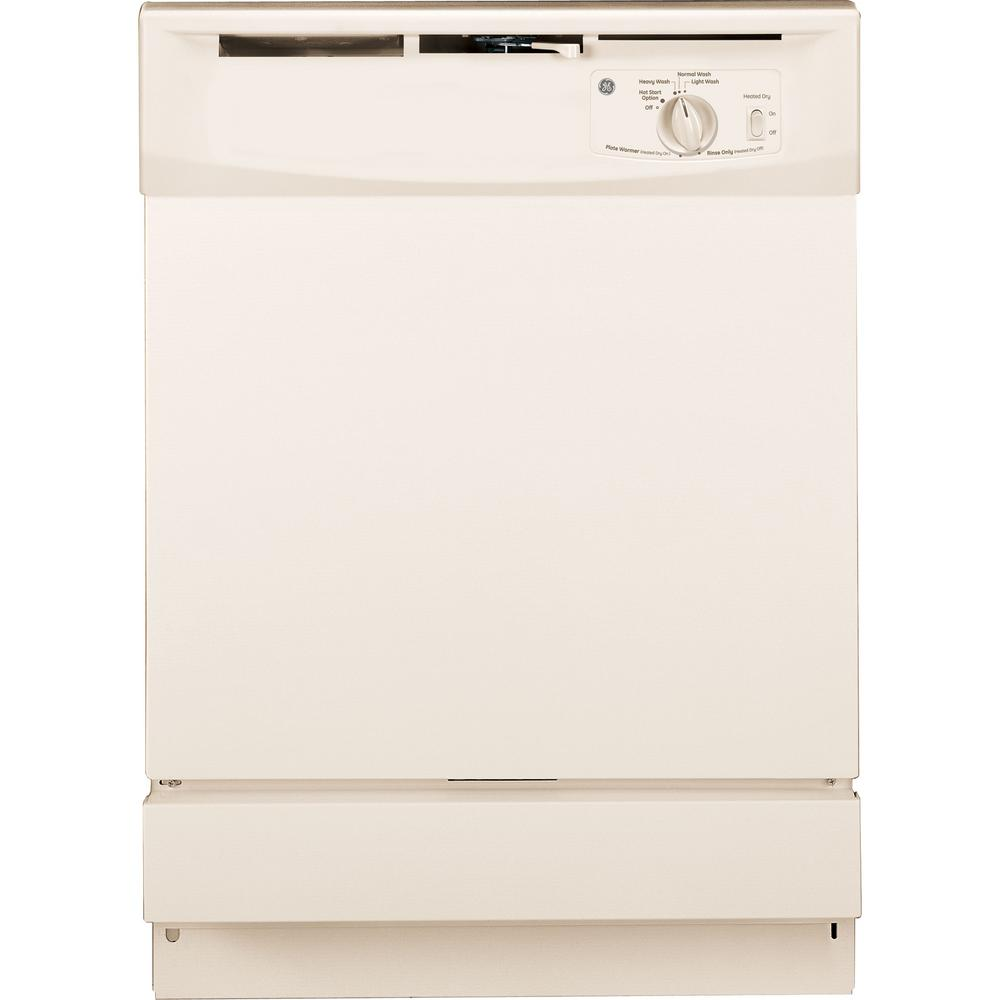 Ge Front Control Dishwasher In Bisque 64 Dba Gsd2100vcc The