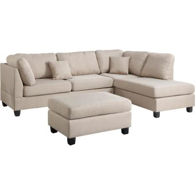 beige sectionals living room