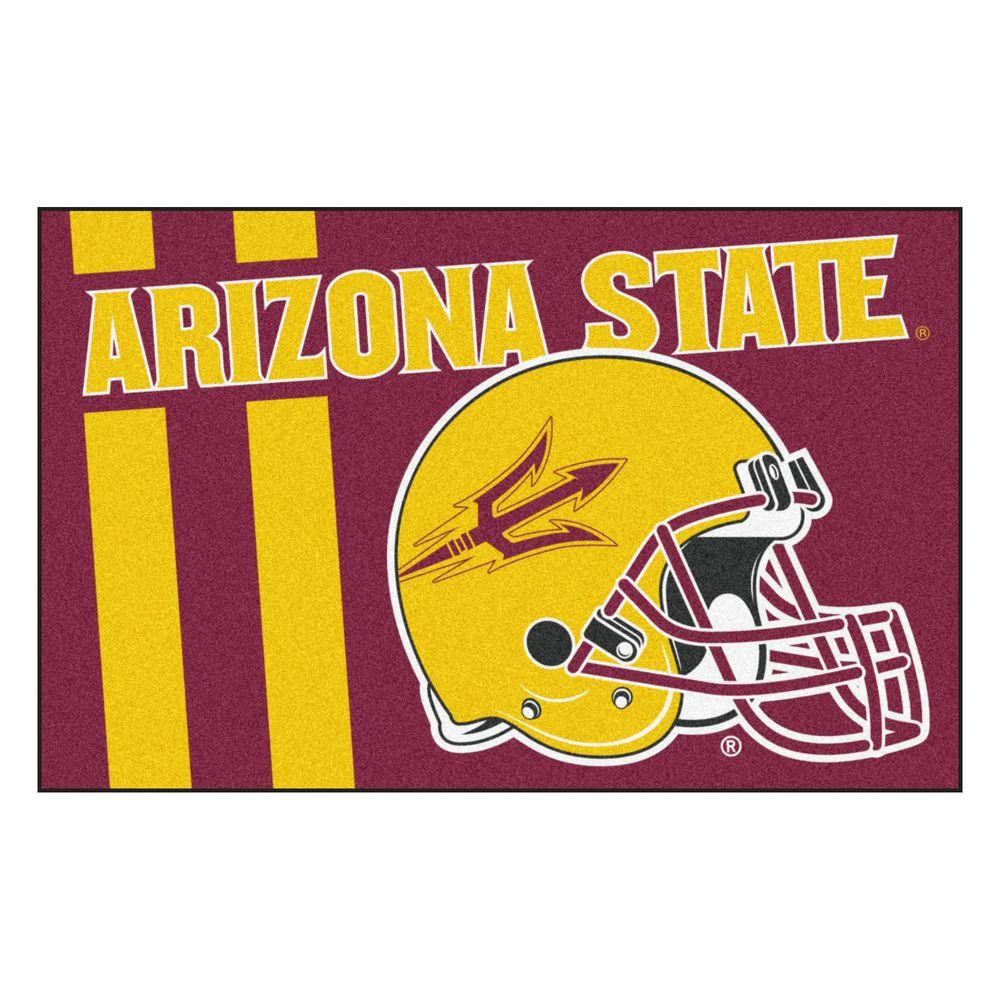 FANMATS NCAA Arizona State University Burgundy 2 Ft X 3