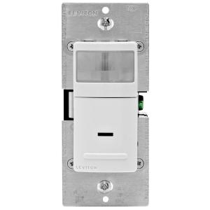 Leviton 15Amp 120Volt SinglePole And 3Way Occupancy Sensor Wall Switch With Color Change Kit