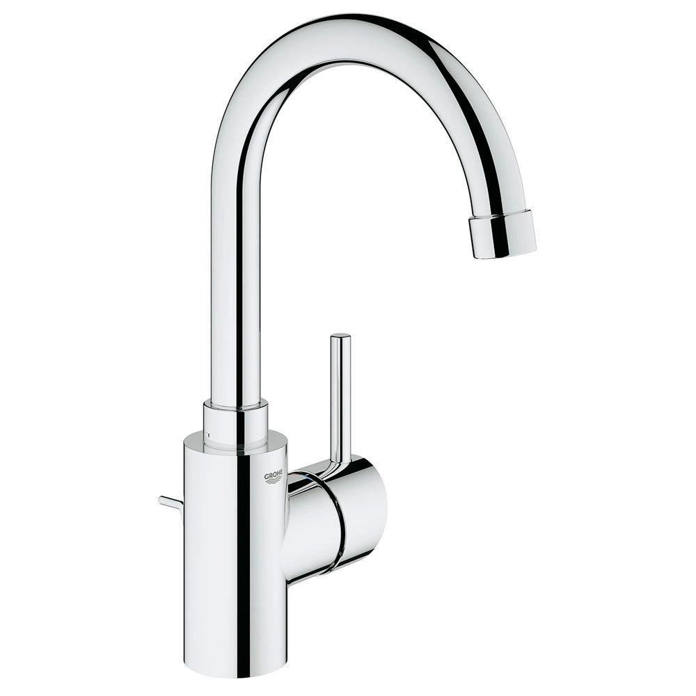 grohe concetto single hole single-handle bathroom faucet in