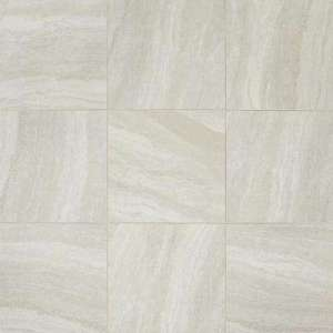 Gray   Ceramic Tile   Tile   The Home Depot Hamilton Linear Gray 18 in  x 18 in  Ceramic Floor and Wall Tile