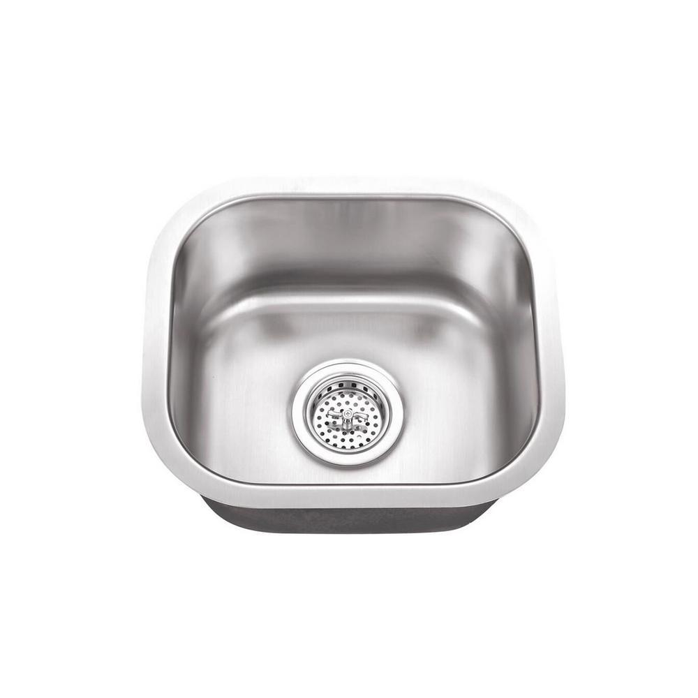 small bar single bowl inset kitchen
