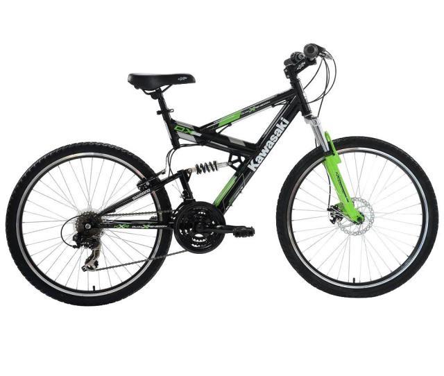 Kawasaki Dx Full Suspension Mountain Bicycle  In Wheels  In Frame