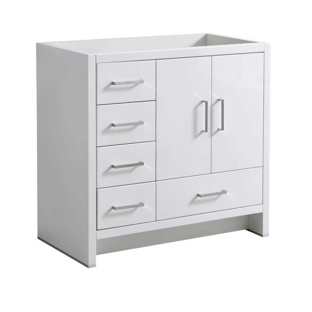 Fresca Imperia 36 in. Modern Bath Vanity Cabinet Only with ... on {keyword}