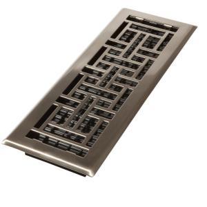 4 In X 14 Oriental Oil Rubbed Bronze Solid Br Register Decor Grates