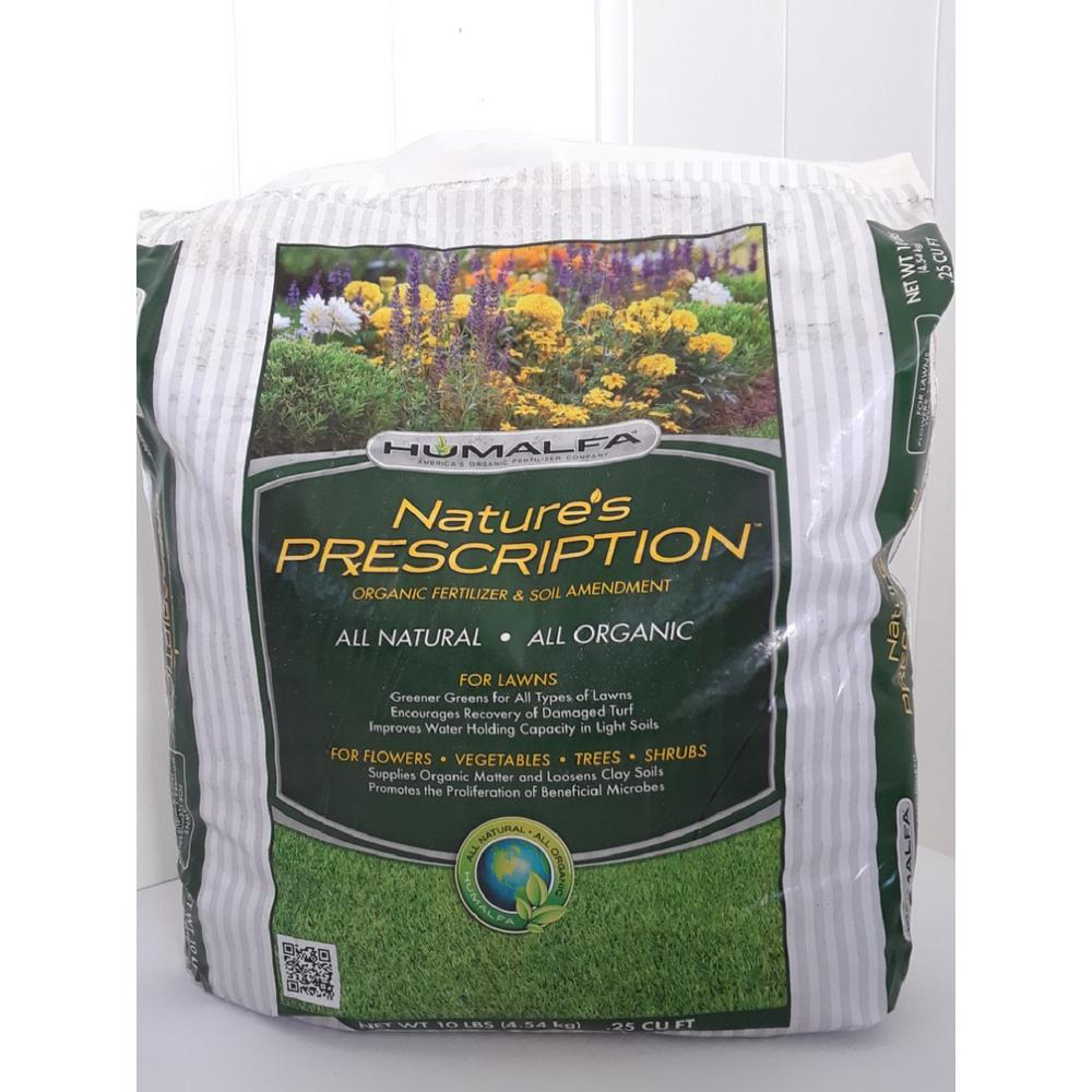 Humalfa Organic Compost Fertilizer Concentrated Strength 10 Lbs Makes 40 Lbs Certified Organic Approved Non Gmo