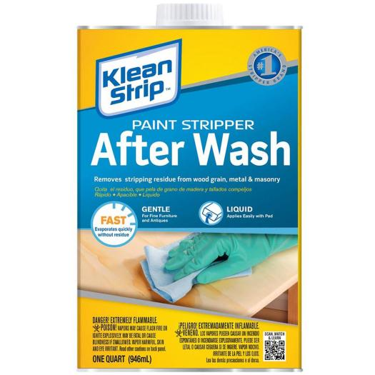 Klean Strip 32 Oz Paint Stripper After Wash