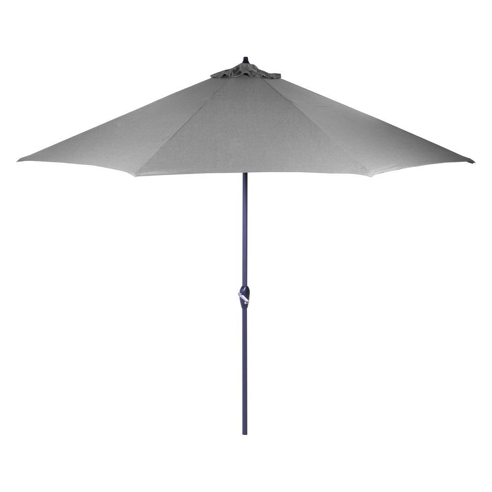 black pole california umbrella 9 round