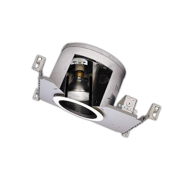 Halo H47 6 in  Aluminum Recessed Lighting Housing for New     Aluminum Recessed Lighting Housing for New Construction Sloped Ceiling   Insulation