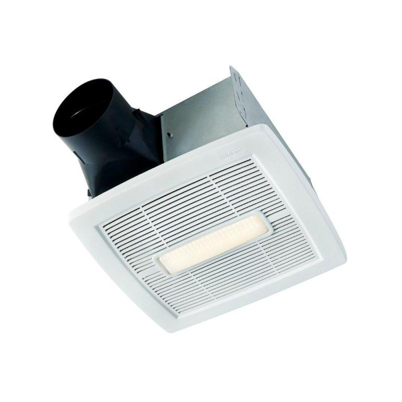 Nutone Roomside Series 110 Cfm Ceiling Installation Bathroom Exhaust Fan With Light Energy Star