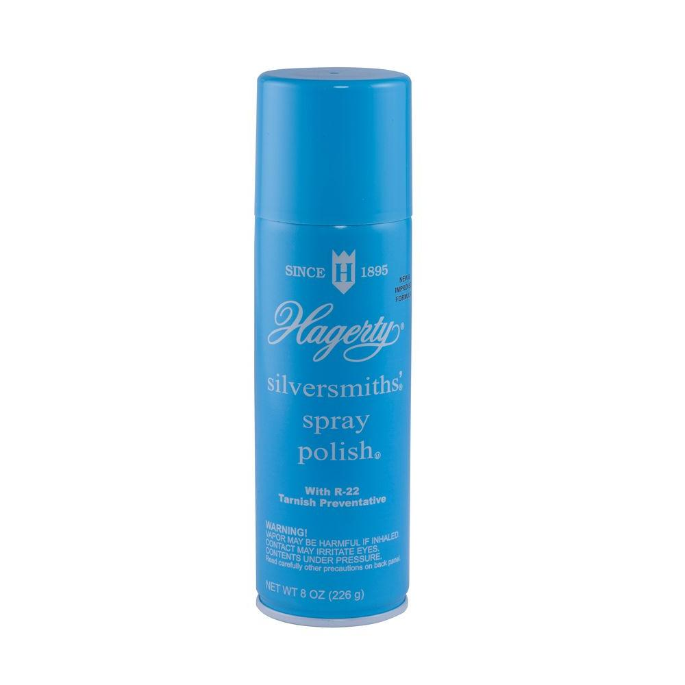 Hagerty 8 Oz Silversmiths Spray Polish 14080 The Home Depot