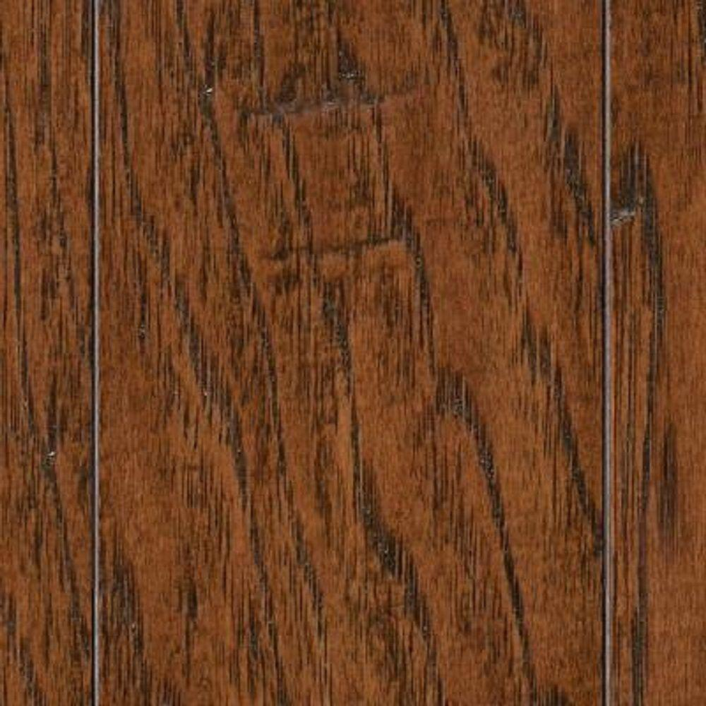 unbranded take home sample hand scraped distressed mixed width archwood hickory engineered hardwood flooring 5 in x 7 in hl 391996 the home
