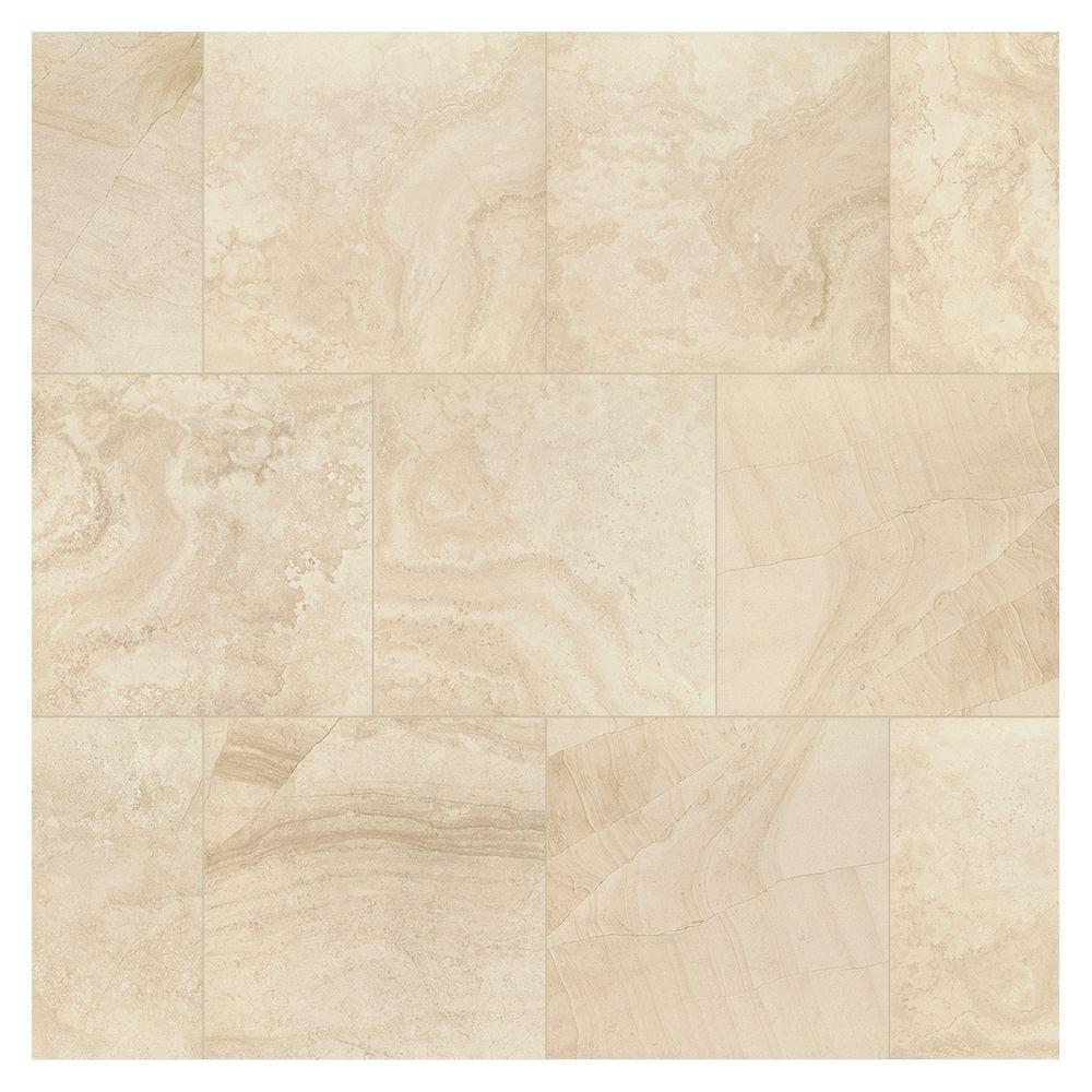 travisano navona 18 in x 18 in porcelain floor and wall tile 17 6 sq ft case ulnb 205141198