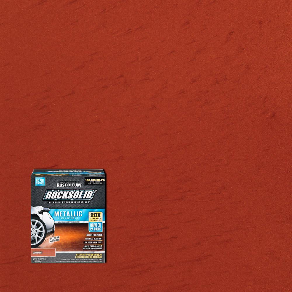 Epoxy Kit Shield Rust Garage High 2 Gloss Gal Floor Oleum Epoxy 2 Part Coating Gray