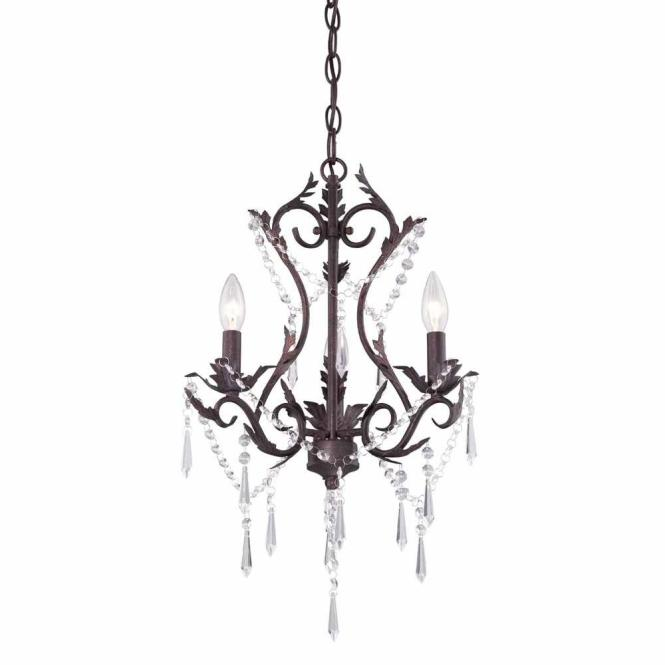 Hampton Bay Signature 3 Light Mediterranean Patina Hanging Chandelier Hb3453 163 The Home Depot