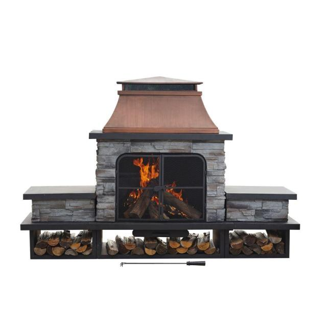 sunjoy seneca 51 in. wood burning outdoor fireplace-l-of083pst-2