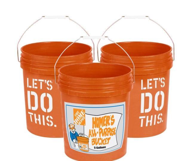 The Home Depot  Gal Homer Bucket  Pack