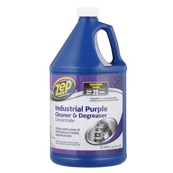 ZEP 128 oz  Industrial Purple Degreaser ZU0856128   The Home Depot Industrial Purple Degreaser