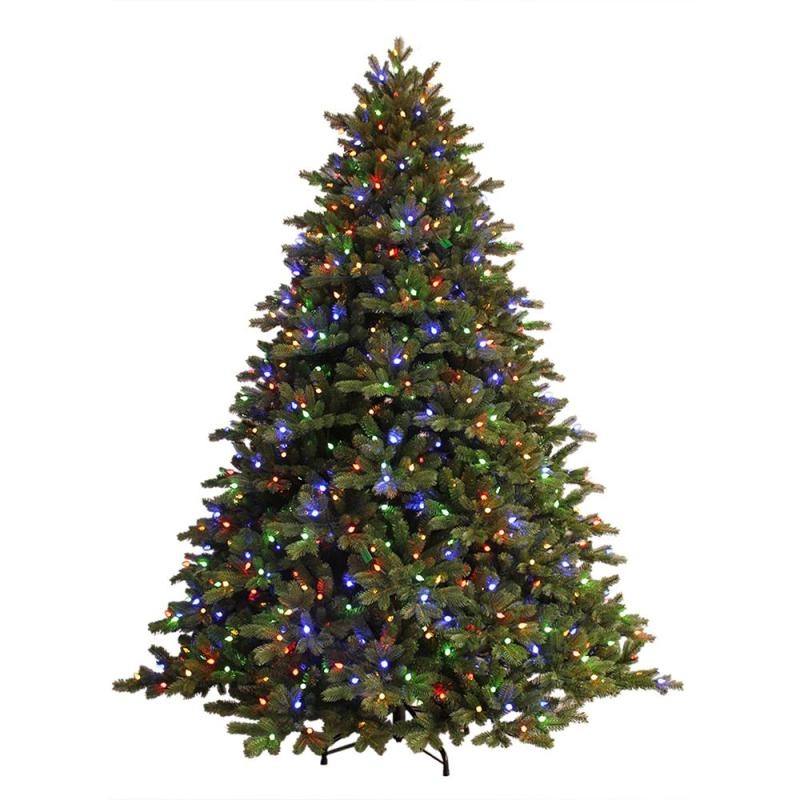 Just Cut Ez Light Norway Spruce Artificial Christmas Tree With C3 Dual