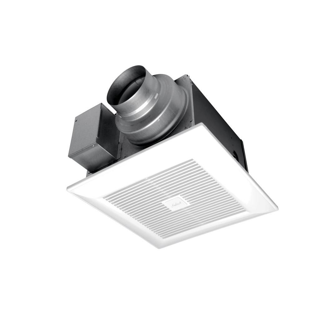 panasonic whispergreen select 50/80/110 cfm ceiling exhaust bath